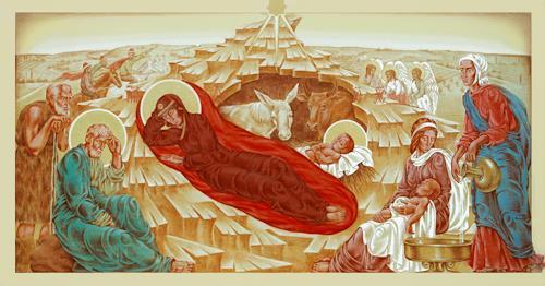 MarianaS, Frohe Weihnachten wünsche ich allen!, Religion, Belief, Historism, Expressionism