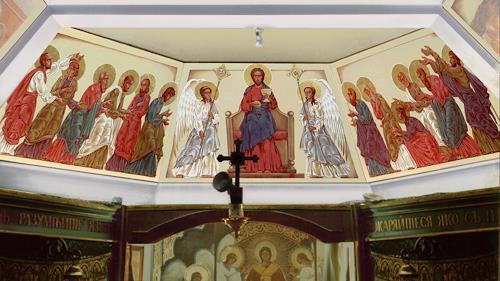 MarianaS, Die Eucharistie, Religion, Belief, Kunst am Bau