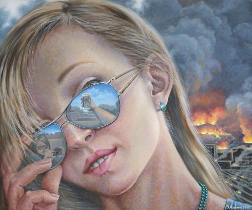 MarianaS, Selbstgefälligkeit, Society, People: Women, Realism, Expressionism