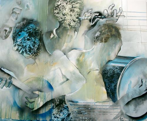 Sabine Maier, DREIKLANG, Music: Musicians, Emotions: Joy, Contemporary Art, Abstract Expressionism