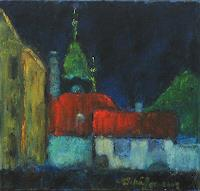 Margareta-Schaeffer-Architecture-Buildings-Houses-Modern-Age-Impressionism
