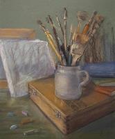 Margareta-Schaeffer-Still-life-Still-life-Modern-Times-Realism
