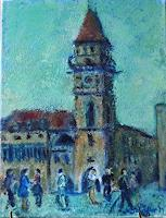 Margareta-Schaeffer-People-Group-Miscellaneous-Modern-Age-Impressionism