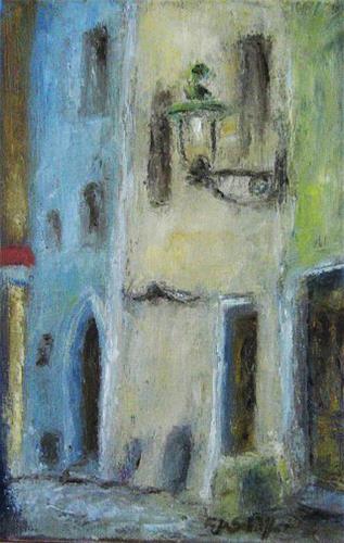 Margareta Schaeffer, ALTE GASSE, Architecture, Architecture, Impressionism