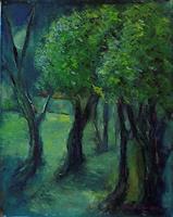 Margareta-Schaeffer-Landscapes-Landscapes-Spring-Modern-Age-Impressionism