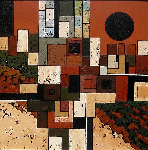 Jonny Lüpkes, Cityscape, Landscapes: Mountains, Architecture, Contemporary Art