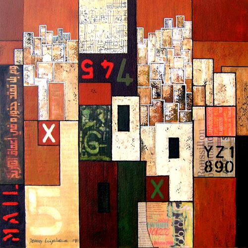 Jonny Lüpkes, O.T., Abstract art, Architecture, Contemporary Art