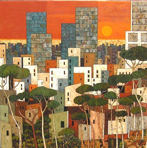 Jonny Lüpkes, N/T, Abstract art, Architecture, Contemporary Art