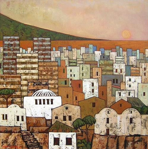 Jonny Lüpkes, Altstadt (Tunis), Landscapes, Miscellaneous Buildings, Contemporary Art