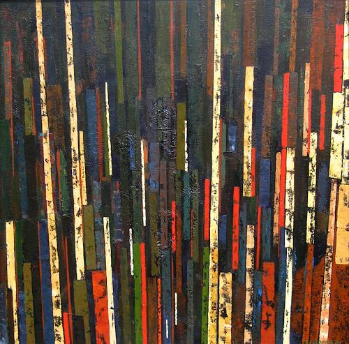 Jonny Lüpkes, Ohne Titel, Abstract art, Architecture, Modern Age