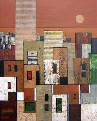 Jonny Lüpkes, Suburban, Buildings, Architecture, Contemporary Art