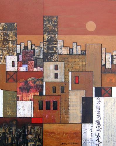 Jonny Lüpkes, Suburban, Architecture, Landscapes, Contemporary Art