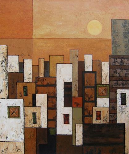 Jonny Lüpkes, N/T, Landscapes, Abstract art, Contemporary Art, Expressionism