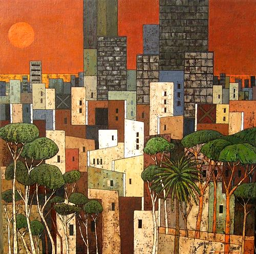 Jonny Lüpkes, Metropolis X, Landscapes, Architecture, Contemporary Art