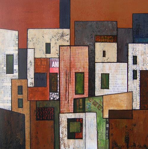 Jonny Lüpkes, O. T., Landscapes, Architecture, Contemporary Art