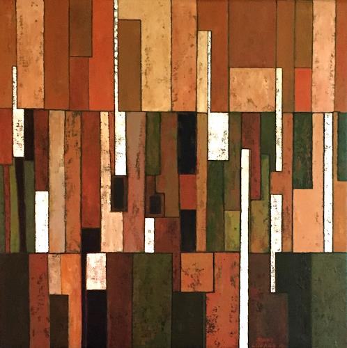 Jonny Lüpkes, O.T., Abstract art, Abstract art, Contemporary Art