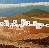 Jonny-Luepkes-Landscapes-Mountains-Buildings-Contemporary-Art-Contemporary-Art