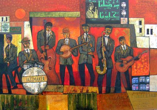 Jonny Lüpkes, Jazzmaker, Architecture, Music, Contemporary Art