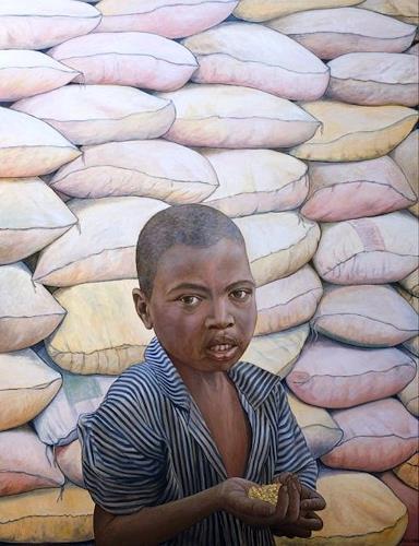 José García y Más, Apocalypse I/ Apokalypse I, Market, People: Children, Contemporary Art