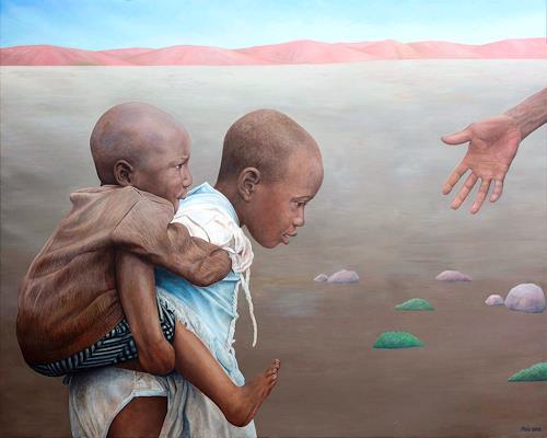 José García y Más, Apocalypse II / Apokalypse II, People: Children, Society, Realism