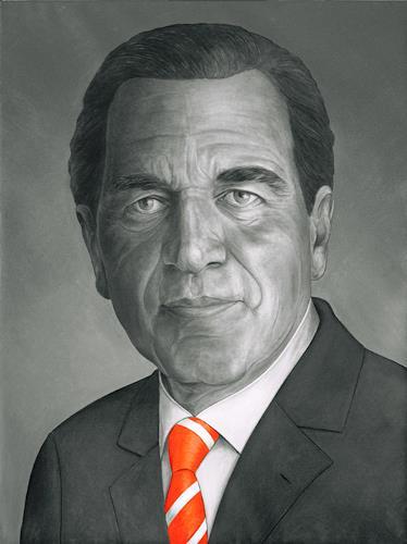José García y Más, Gerhard Schröder, History, People: Portraits, Contemporary Art