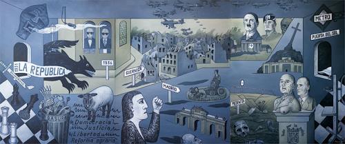 José García y Más, Spain 1930-1980 / Spanien..., History, War, Contemporary Art