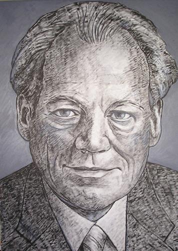 José García y Más, Willy Brandt, History, People: Portraits, Contemporary Art