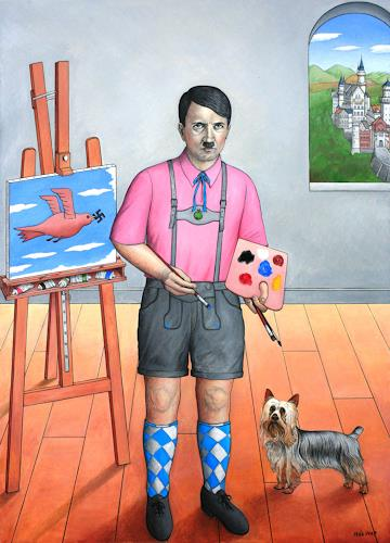 José García y Más, The Failed Artist / Der verhinderte Künstler, History, People: Men, Contemporary Art