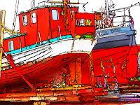 j.p.yef, a small danish shipyard