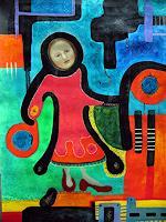 Amaru-Decorative-Art-People-Women