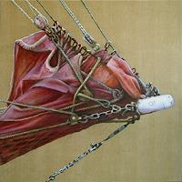 Uwe-Thill-Landscapes-Sea-Ocean-Verkehr-Ship-Modern-Times-Realism
