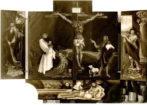 Uwe Thill, Grunewaldaltar zu Colmar, Religion, History, Realism, Abstract Expressionism