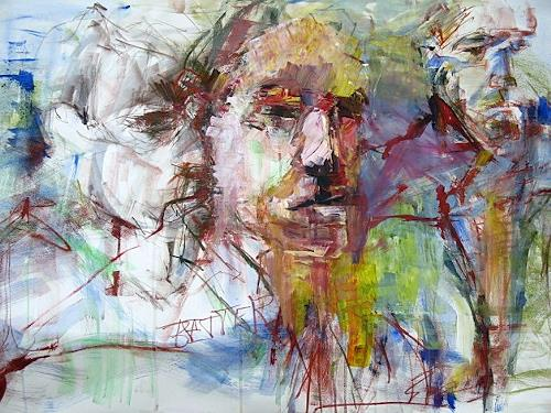 Ingrid Bartel-Karsten, Better Days, People: Faces, Nature: Rock, Abstract Expressionism