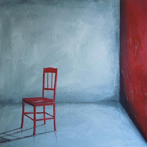 Jürgen Kühne, ruhe raum, Still life, Modern Age, Abstract Expressionism
