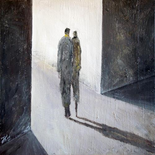 Jürgen Kühne, ins licht 3, People: Couples, Contemporary Art, Abstract Expressionism