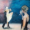 Jürgen Kühne, Tangoshow, People: Group, Contemporary Art