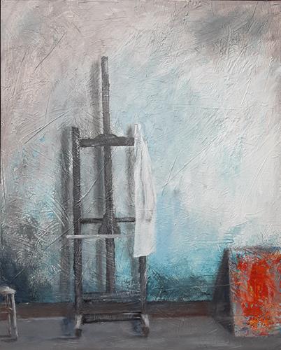 Jürgen Kühne, Staffelei, Still life, Contemporary Art