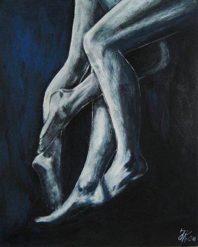 Jürgen Kühne, ineinander, Miscellaneous Erotic motifs, Abstract Expressionism