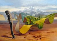 Stefan-Ambs-Landscapes-Mountains-Nature-Miscellaneous-Contemporary-Art-Post-Surrealism