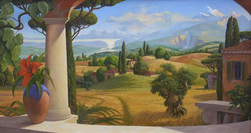 Stefan Ambs, Landschaft, Landscapes: Mountains, Landscapes: Sea/Ocean, Mannerism
