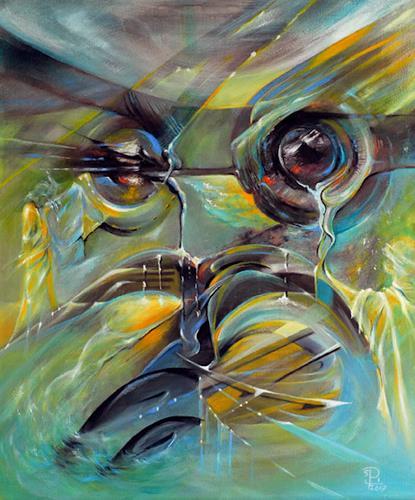 Susanne Pfefferkorn, Portrait der bizarren Zeit, People, Emotions, Post-Surrealism, Expressionism