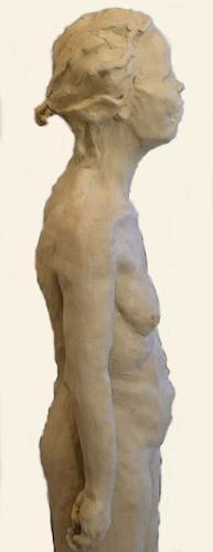 Yvonne van Hülsen, Frau Takeyashi, Erotic motifs: Female nudes, People: Women, Contemporary Art, Abstract Expressionism