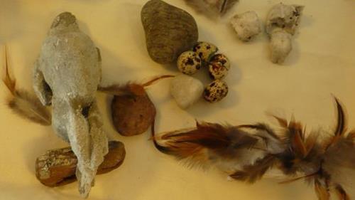 Yvonne van Hülsen, ...als die Steine noch Vögel waren, Nature: Air, Nature: Rock, Contemporary Art