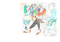 Monika-Aladics-People-Group-Society-Contemporary-Art-Contemporary-Art