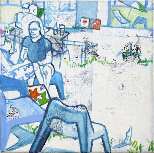 Monika Aladics, Siesta in Berlin, Situations, Abstract Art