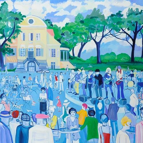 Monika Aladics, In memoriam Luise, People, Landscapes, Contemporary Art