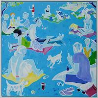 Monika-Aladics-People-Group-Modern-Age-Abstract-Art