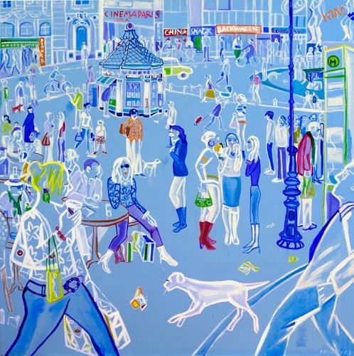 Monika Aladics, Hunger, People, People: Group, Contemporary Art
