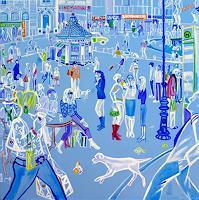 Monika-Aladics-People-People-Group-Contemporary-Art-Contemporary-Art