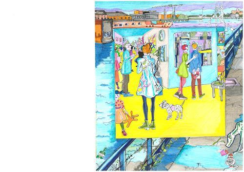 Monika Aladics, I Love Art / Serie: We Love Art, Society, Market, Contemporary Art